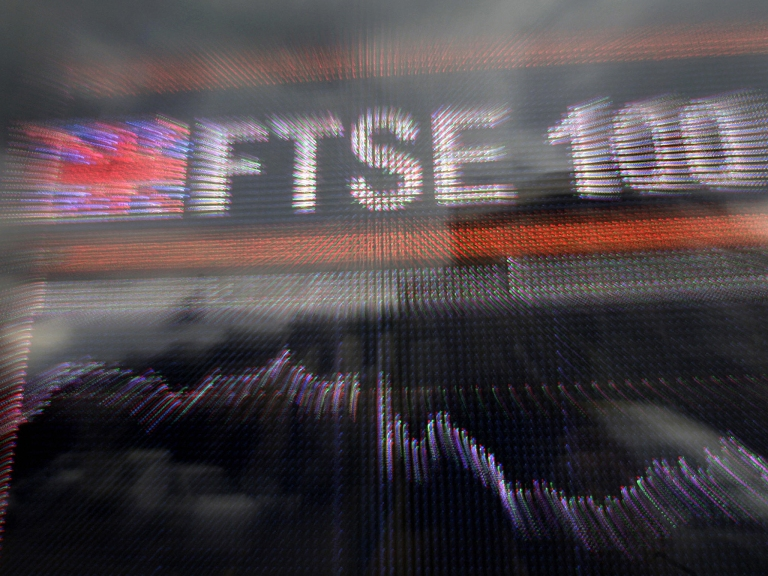 The FTSE 100 is down -7.45% since the beginning of August.